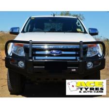 Dobinsons Bull Bar Classic Black Deluxe Ford Ranger PX 2012 to 09-2015