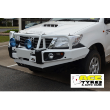 Dobinsons Bull Bar Classic Black Deluxe Toyota Hilux up to 7/2015