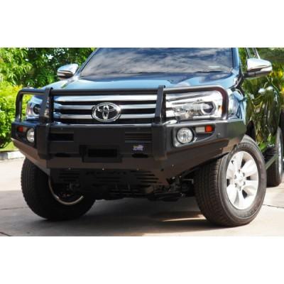 Dobinsons Bull Bar Classic Black Deluxe Toyota Hilux 8/2015 on