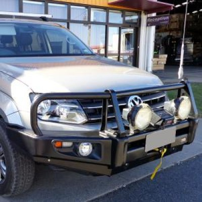 Dobinsons Bull Bar Classic Black Deluxe VW Amarok 2011 on