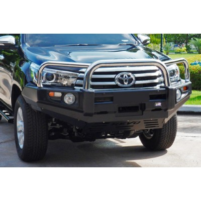 Dobinsons Bull Bar Stainless Loop Deluxe Toyota Hilux 8/2015 on