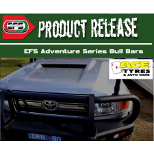 EFS BULL BAR Toyota LandCruiser 76 Series