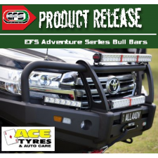 EFS BULL BAR Toyota Hilux 8-2015 on