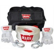 Warn Recovery gear starter kit