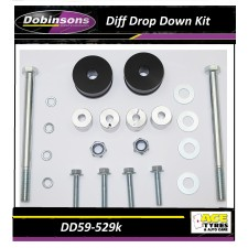 Dobinsons Diff Drop Down Kit DD59-529K suit 2005-on Hilux/Fortuner