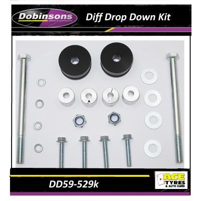 Dobinsons Diff Drop Down Kit DD59-529K suit 2005-on Hilux/Fortuner
