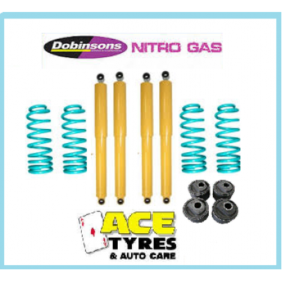Dobinsons Suspension Kit Toyota Landcruiser 80 Series 50mm