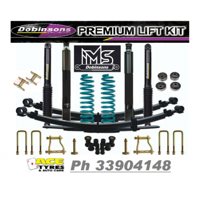 Dobinsons Suspension Kit IMS Landcruiser 76/78/79 Series V8 50mm