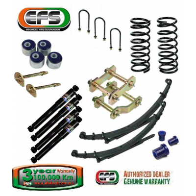 EFS Elite Suspension Kit Toyota Landcruiser 78-79 Series 50mm lift