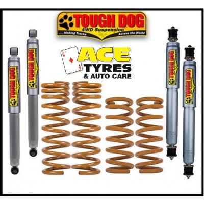 Tough Dog Suspension Kit Jeep Wrangler JK 2D Diesel