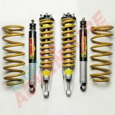 Tough Dog Suspension 40m Adjustable Shocks Nissan Navara D23 NP300 30mm
