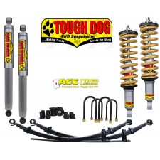 Tough Dog Kit Nissan Navara D40 Foam Cell 40mm Pre assembled
