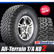 BFGoodrich LT265/70R16 AT KO2 121/118S
