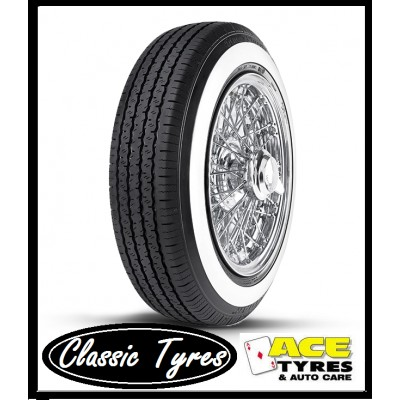 RADAR DIMAX 185/70R13 86V CLASSIC WHITE WALL 35mm