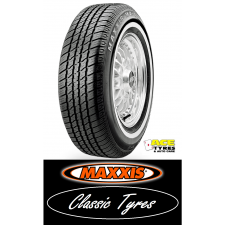 Maxxis 215/75R15 102S MA1 CLASSIC WHITE WALL 20mm