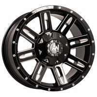 Allied Stringer Black Milled 18X9 5x150 +35