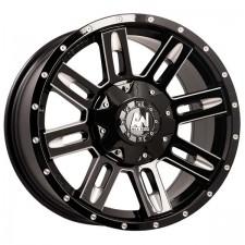 Allied Stringer Black Milled 18X9 5x150 +35
