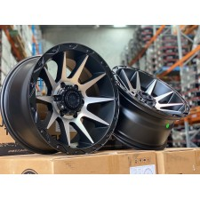 American Outlaw Cord Machined Face 17X8.5 6X139 +5